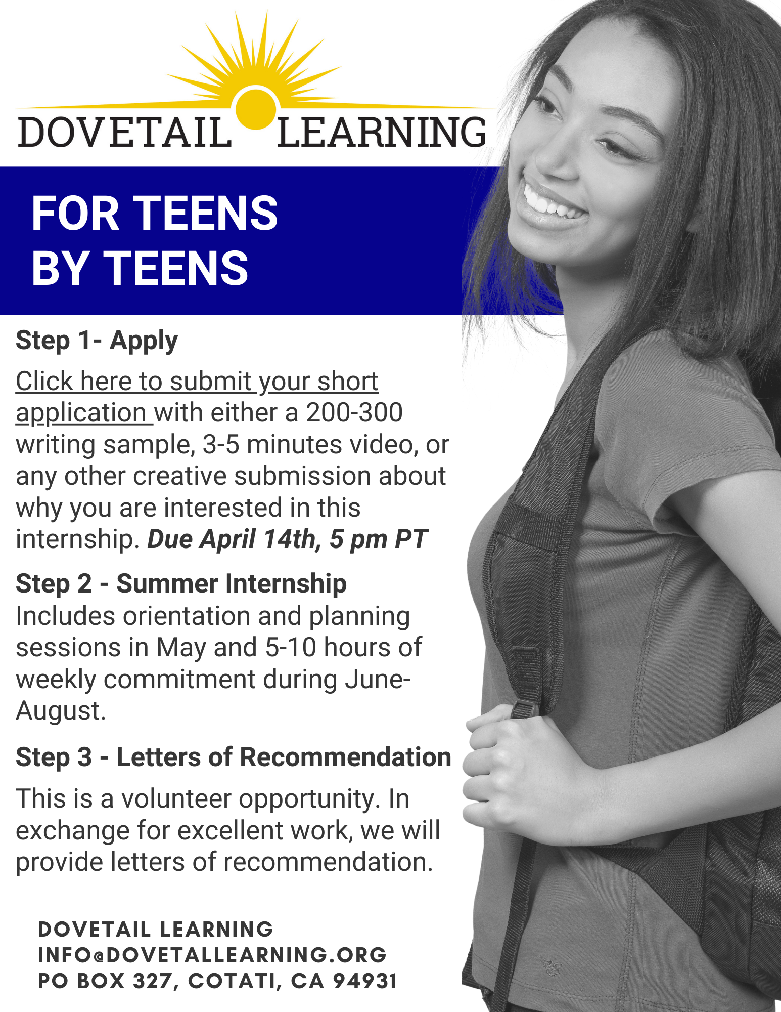 For Teens By Teens Invite